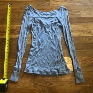 Anthropologie low back thermal